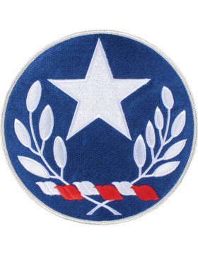 DISPLAY ORG PATCH/6in-NG/TX-F TEXAS N/G HQ COLOR with HEAT SEAL