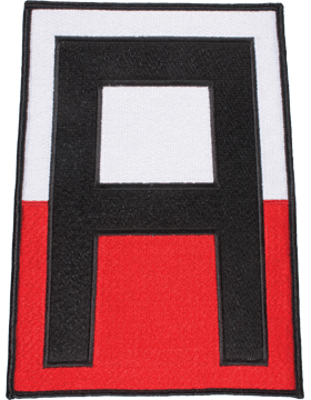 Organization 8in Patch 1 Army with Heat Seal Full Color