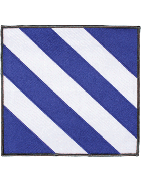 Organization 8in Patch 3 Infantry Division with Heat Seal Full Color