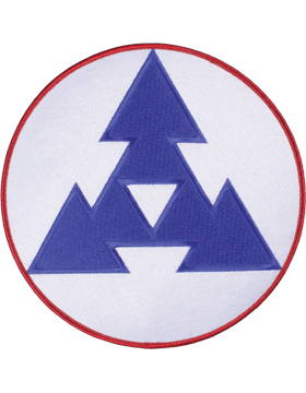 Organization 8in Patch 3 Corps Support Command with Heat Seal Full Color