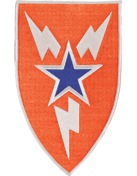 Organization 8in Patch 3 Signal Brigade with Heat Seal Full Color