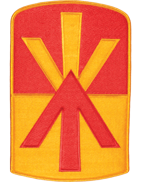 Organization 8in Patch 11 Air Defense Artillery with Heat Seal Full Color