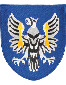 Organization 8in Patch 11 Aviation Brigade with Heat Seal Full Color