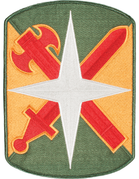 Organization 8in Patch 14 Military Police Brigade with Heat Seal Full Color