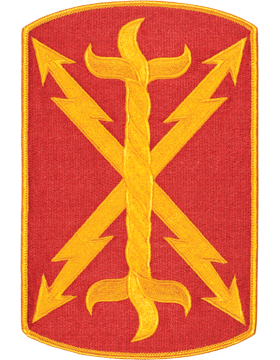 Organization 8in Patch 17 Field Artillery Brigade with Heat Seal Full Color