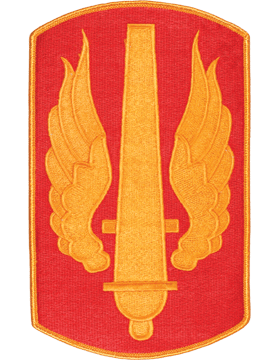 Organization 8in Patch 18 Field Artillery Brigade with Heat Seal Full Color