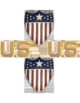 No-Shine (NS-O201) Adjutant General and US Officer (Vintage)