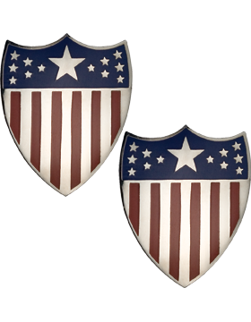 No-Shine, Adjutant General and Adjutant General Officer (Pair)