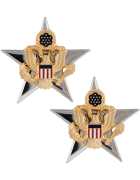 No-Shine, General Staff and General Staff Officer (Pair)