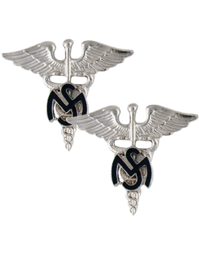 No-Shine, Medical Service Corps and Med Serv Corps Officer (Pair)