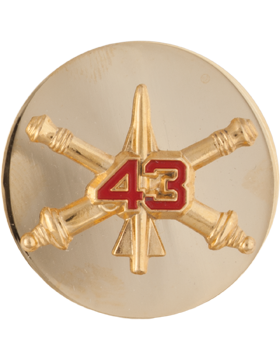 43rd Air Defense Artillery Enlisted (Pair)
