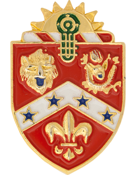 No-Shine (NS-T-C-0003C) 3rd Field Artillery Crest Tie Tac