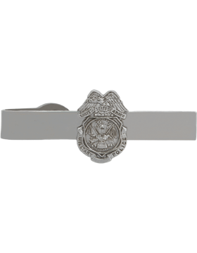 No-Shine (NS-TB-500) Military Police Badge Tie Bar