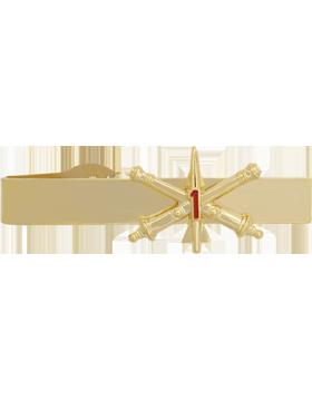 1st Air Defense Artillery BOS Officer Tie Bar