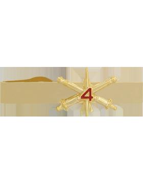 4th Air Defense Artillery BOS Officer Tie Bar