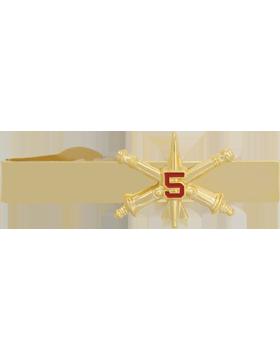 5th Air Defense Artillery BOS Officer Tie Bar