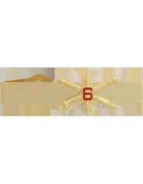 6th Air Defense Artillery BOS Officer Tie Bar