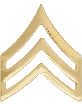 No-Shine Rank (NS-105) Sergeant (E-5)