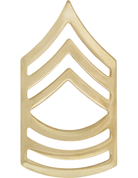 No-Shine Rank (NS-108) Master Sergeant (E-8)