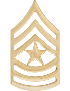 No-Shine Rank (NS-110) Sergeant Major (E-9)