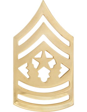 No-Shine Rank (NS-111) Command Sergeant Major (E-9)