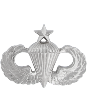 NS-308, No-Shine Badge Senior Parachutist