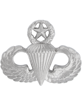 NS-309, No-Shine Badge Master Parachutist