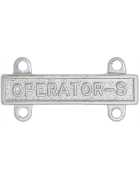 NS-366, No-Shine Operator-S Qualification Bar