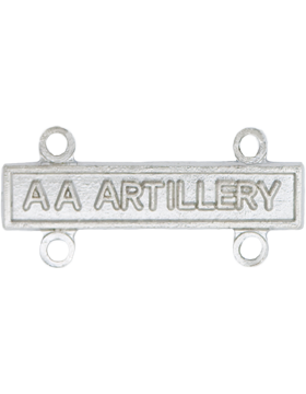 NS-367, No-Shine AA Artillery Qualification Bar