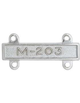 NS-369, No-Shine M-203 Qualification Bar