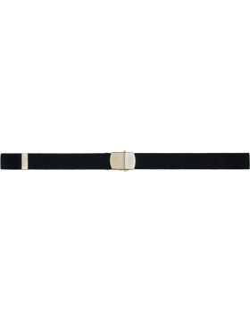 Elastic Belt with Buckle and Tip