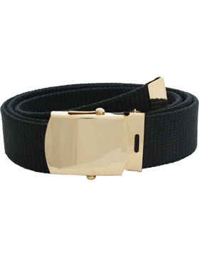 U.S. Army Spec Cotton Belt with Buckle and Tip