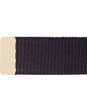 U.S. Army Cotton Web Belt with Brass Tip