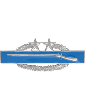 NS-516A, No-Shine Dress Mini Combat Infantryman Badge 3rd Award