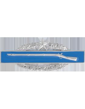 NS-516, No-Shine Dress Mini Combat Infantryman Badge 2nd Award (CIB)