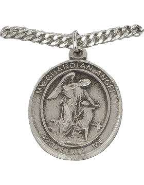 NS-723A, Guardian Angel with US Air Force, Silver 1in Oval