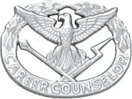 No-Shine Career Counselor Badge (Nickel)
