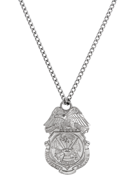 No shine military police badge necklace nickel us military no shine military police badge necklace nickel small mozeypictures Choice Image