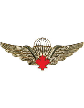 No-Shine (NS-957) Canadian Jump Wings (Red)