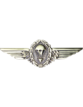 No-Shine (NS-959) German Parachutist Wings (Gold and Black)