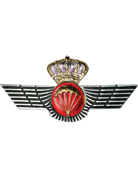 No-Shine (NS-960) Spanish Parachutist Wings