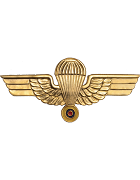 No-Shine (NS-967) Ecuadorian Parachutist Wings