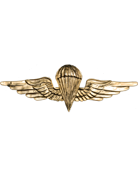 No-Shine (NS-972) Jordanian Basic Parachutist Wings