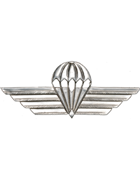 No-Shine (NS-973) Kenya Parachutist Wings