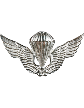 No-Shine (NS-975) Korean Parachutist Wings (Nickel)