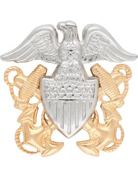 NY-551 Navy Officer Cap Device Miniature