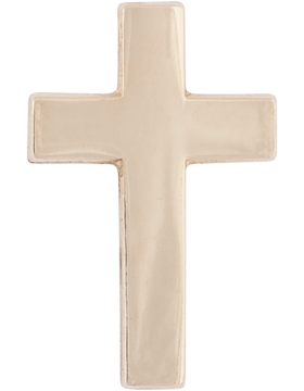 NY-608 Officer Collar Christ Chaplain (Each) Gold Plated