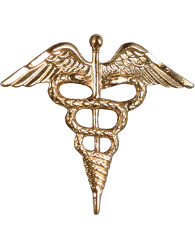 NY-624 Warrant Officer Collar Pharmacist (Each) Gold