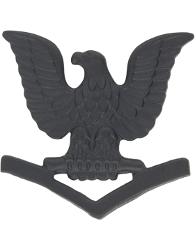 Navy Black Metal Collar Device NY-B220 3rd Class Petty Officer