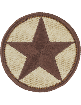 Opfor Star Patch Desert Tan